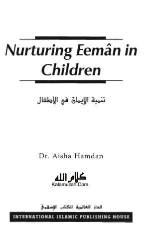 Nurturing Iman in Children