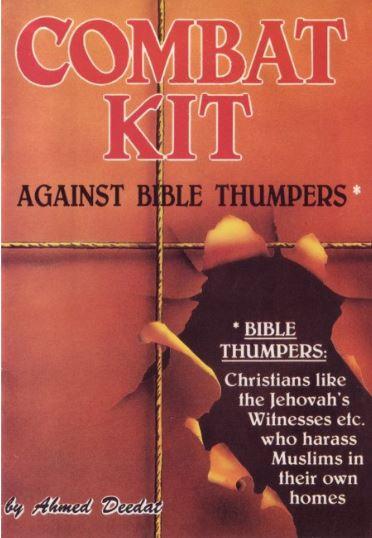 Kampfausrüstung gegen aggressive Bibelverfechter