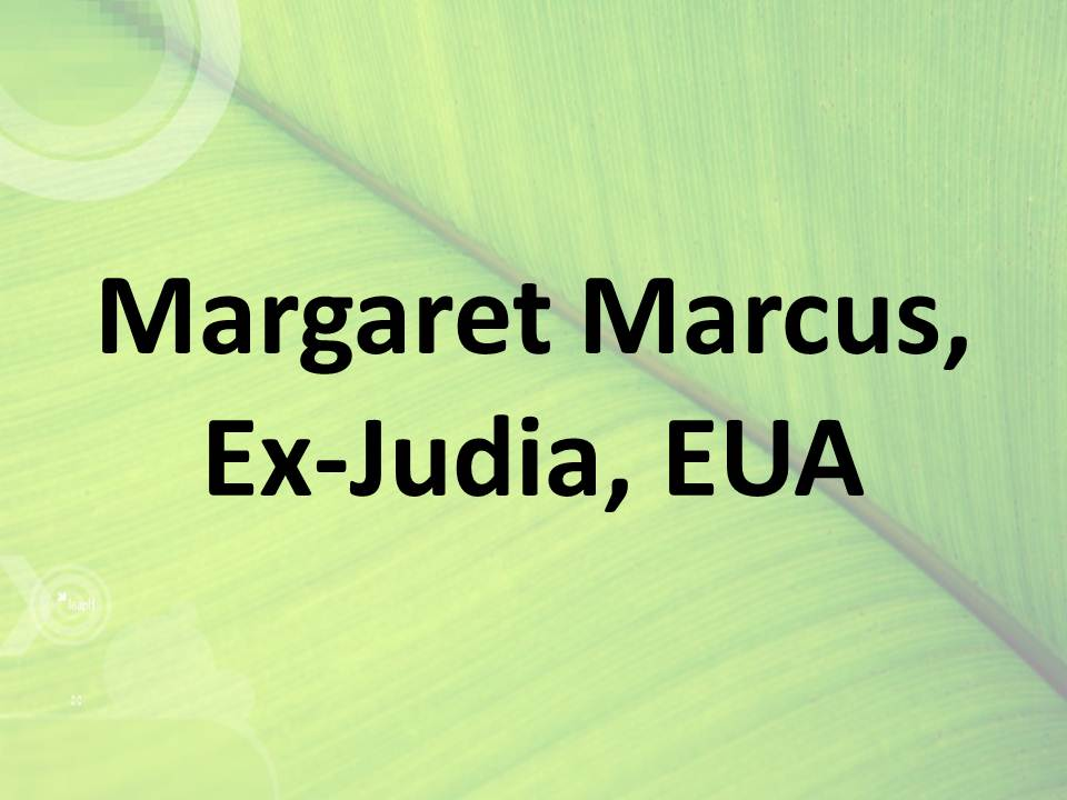 Margaret Marcus, Ex-Judia, EUA