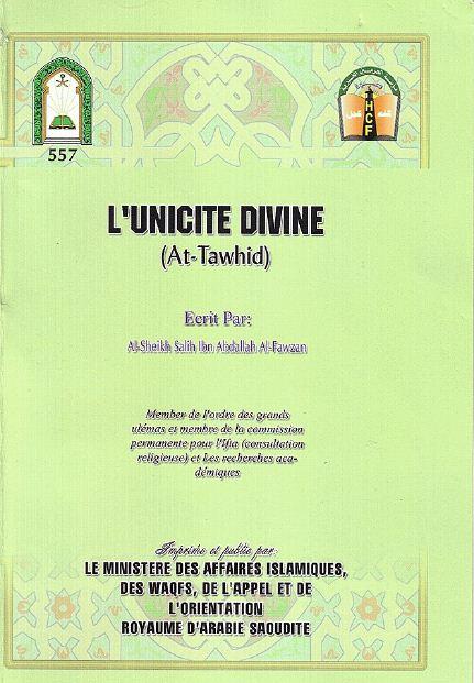 L'unicité Divine