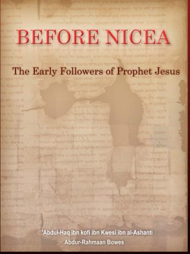 Înainte de conciliul de la Niceea