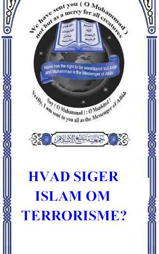 HVAD SIGER ISLAM OM TERRORISME ?