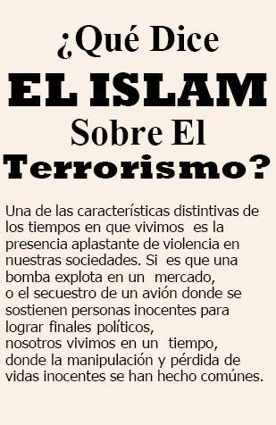 ¿Qué Dice EL ISLAM Sobre El Terrorismo ?