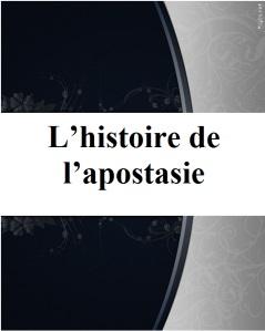 L'histoire de l'apostasie