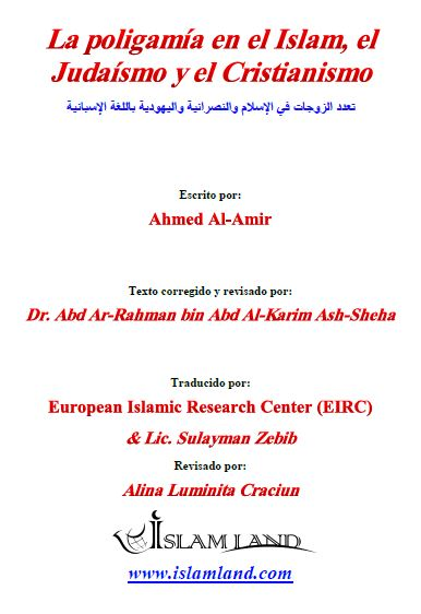 La poligamía en el Islam, el Judaísmo y el Cristianismo