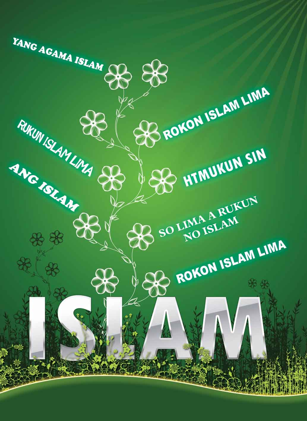 SO LIMA A RUKUN NO ISLAM