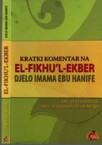 Kratki komentar na djelo imama Ebu Hanife - El Fikhul-ekber
