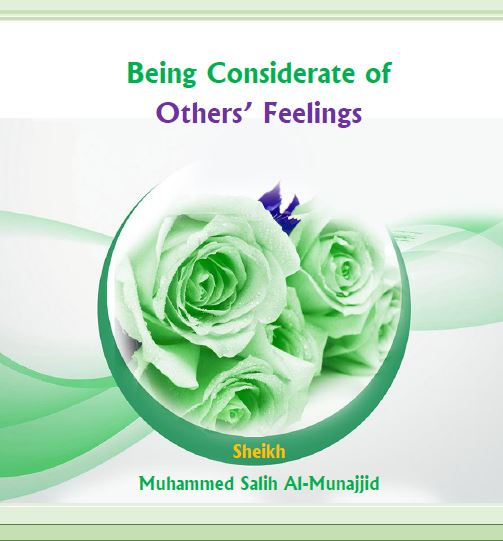 Being Considerate of Others Feelings