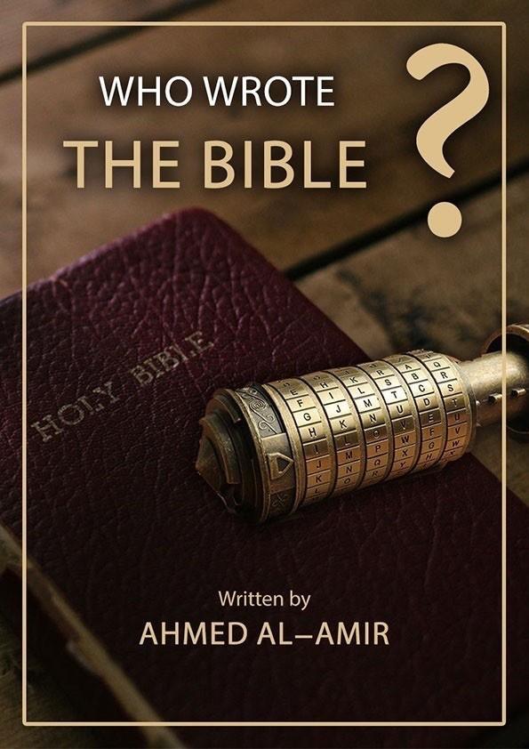 KDO JE NAPISAL BIBLIJO?