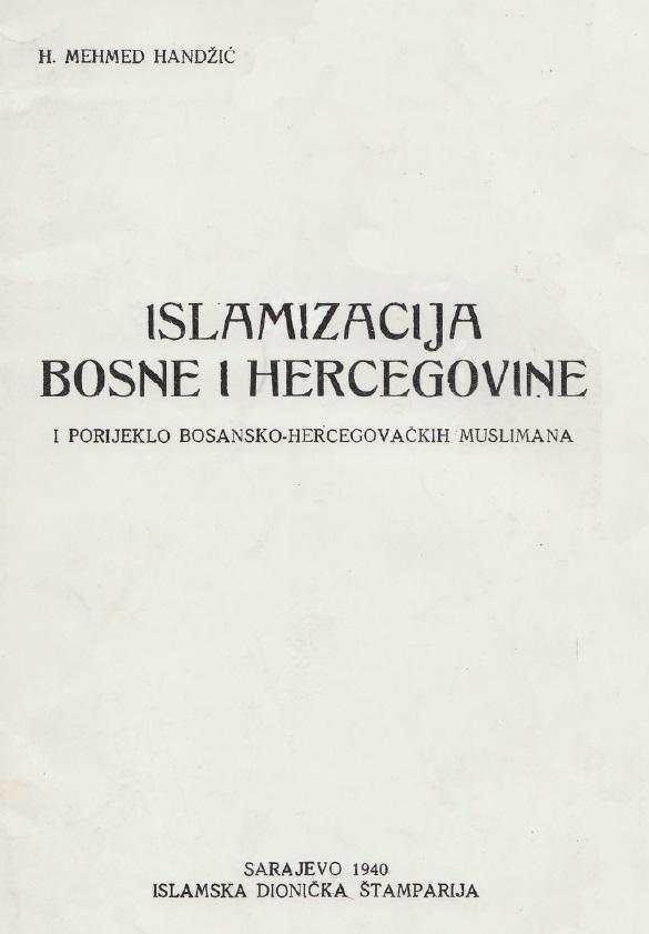 Islamizacija Bosne i Hercegovine