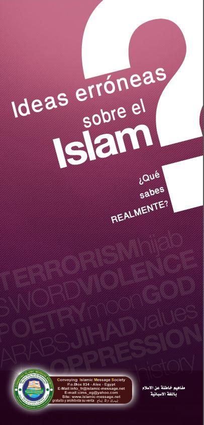 Ideas erróneas sobre el Islam