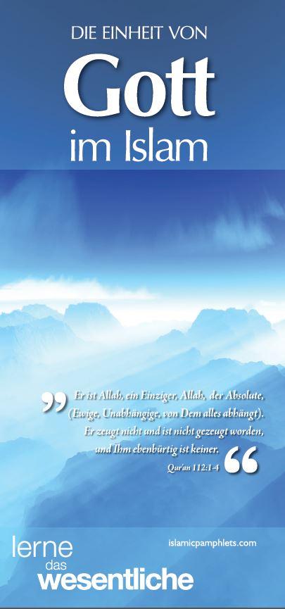Die einheit von Gott im Islam