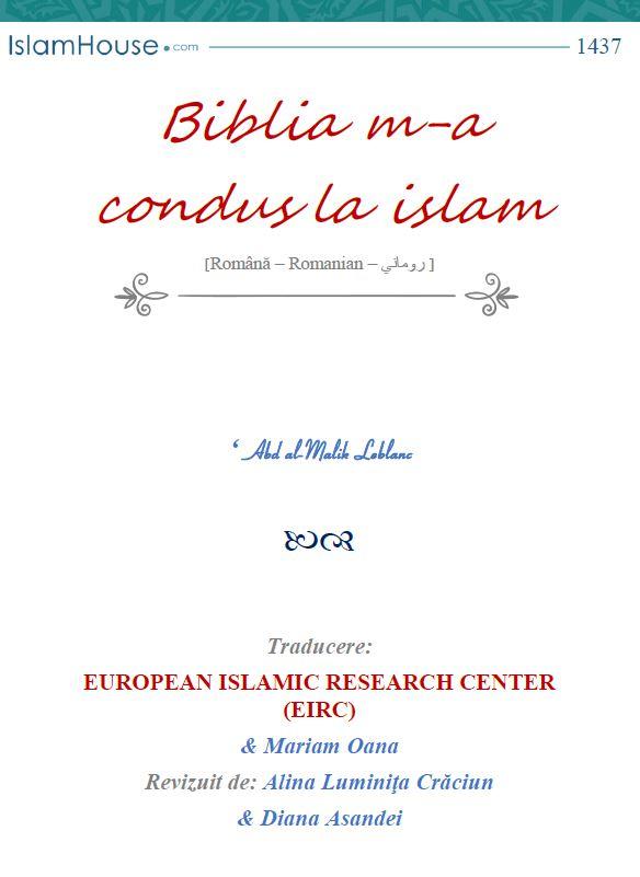 Biblia m-a condus la islam
