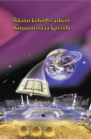 Sikiön kehitysvaiheet Koraanissa ja kuvissa