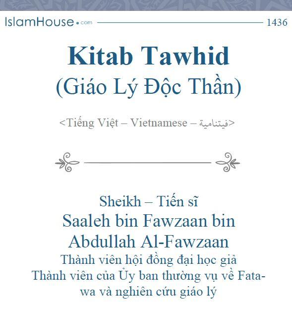 Kitab Tawhid (Giáo Lý Độc Thần)
