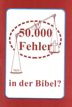50,000 Errors in the Bible