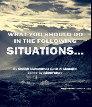 What You Should Do In The Following Situations?