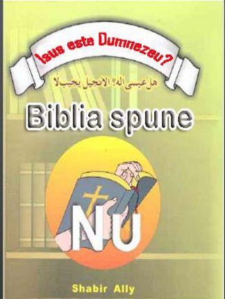 Isus este Dumnezeu? Biblia spune: nu!