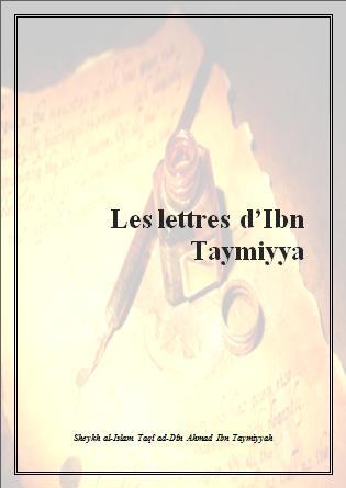 Les lettre de Ibn Taymiya
