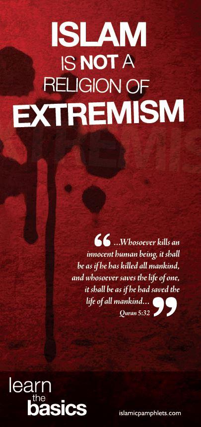 Islam religion extremism