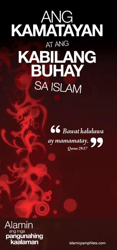 Ang Kamatayan at kabilang buhay sa Islam