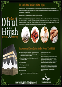 Virtues of the First Ten Days of Dhul-Hijjah