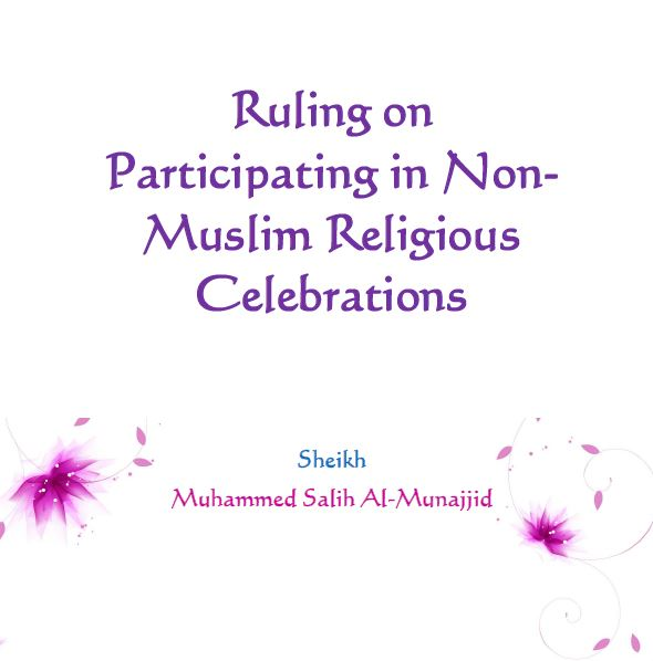 Ruling on Participating in Non-Muslim Religious Celebrations