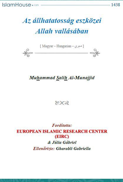 Az állhatatosság eszközei Allah vallásában