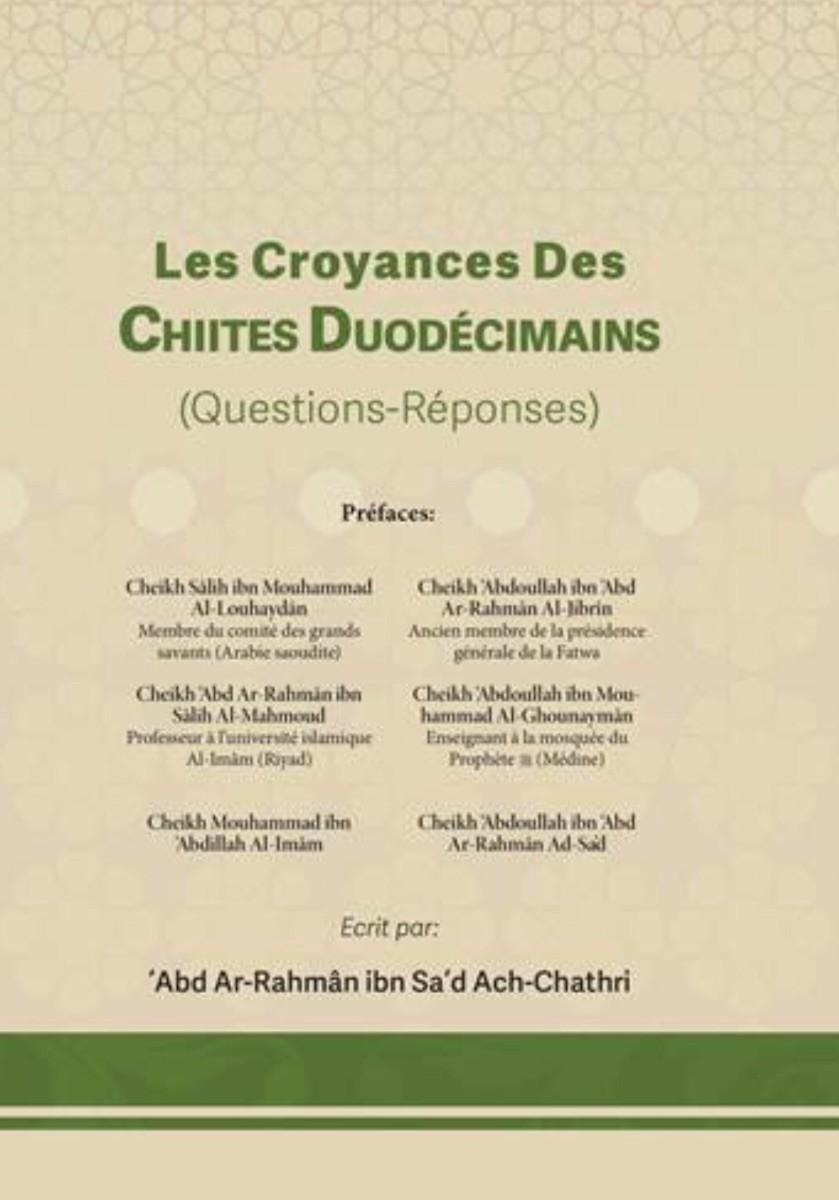Les Croyances Des Chiites Duodecimains