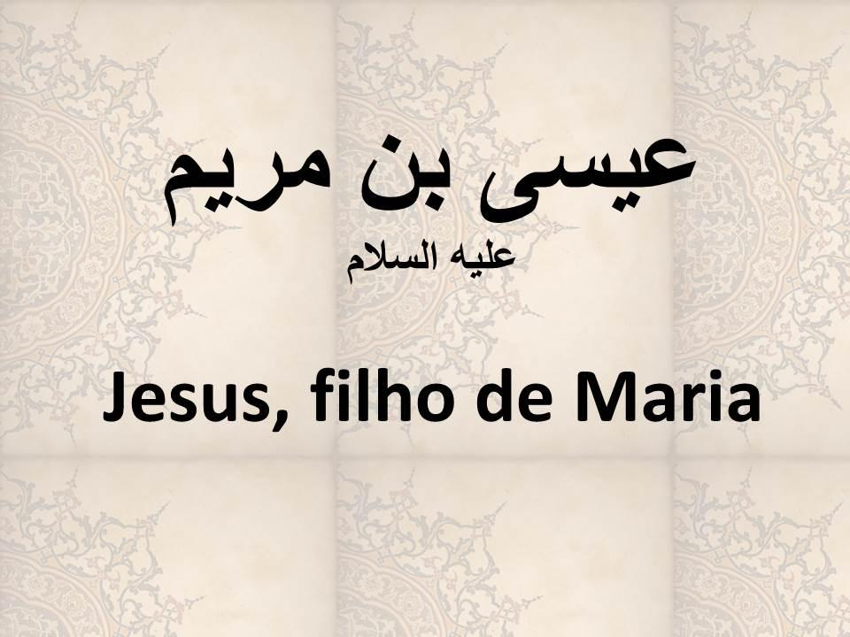 Jesus, filho de Maria