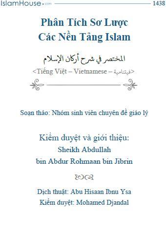 Phân Tích Sơ Lược Các Nền Tảng Islam